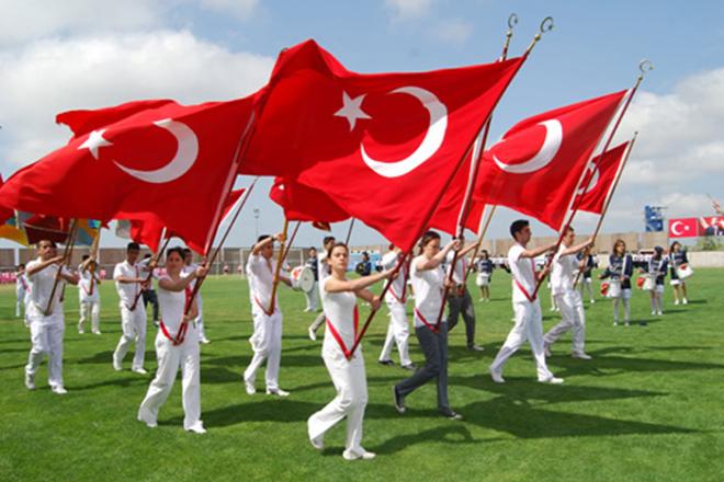 Tören Bayrağı modeli